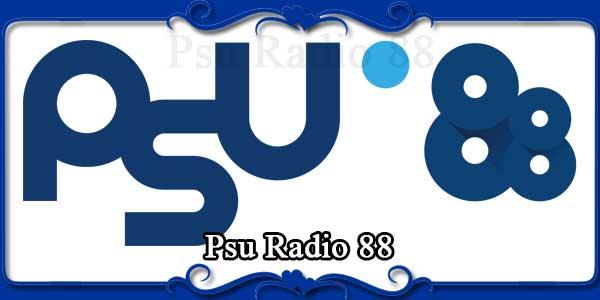 Psu Radio 88