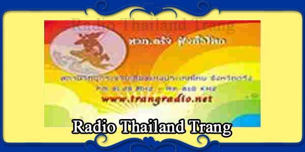 Radio Thailand Trang