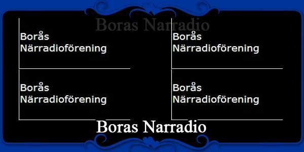 Boras Narradio