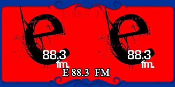 E 88.3 FM