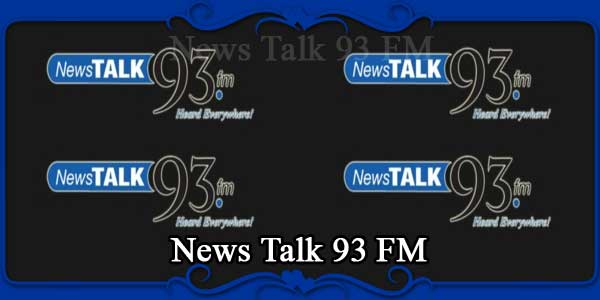 News Talk 93 FM
