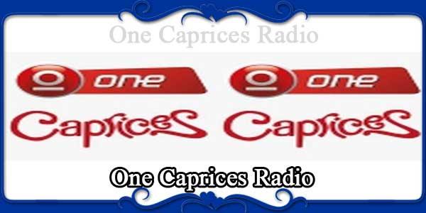 One Caprices Radio