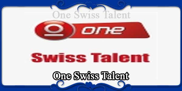 One Swiss Talent
