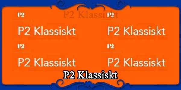 P2 Klassiskt