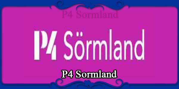 P4 Sormland