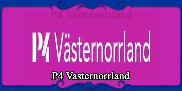 P4 Vasternorrland