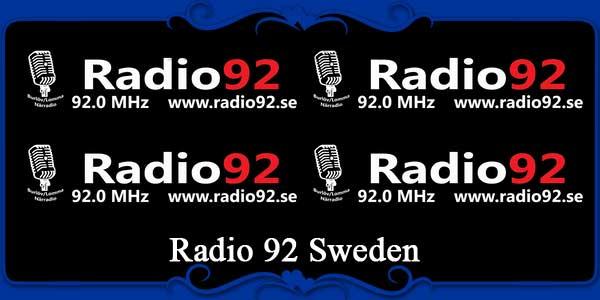 Radio 92 Sweden