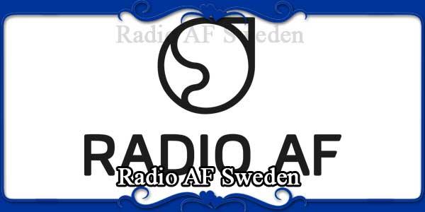 Radio AF Sweden