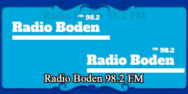 Radio Boden 98.2 FM