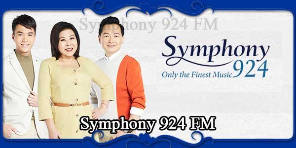 Symphony 924 FM