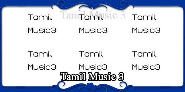 Tamil Music 3