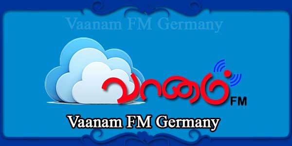 Vaanam FM Germany