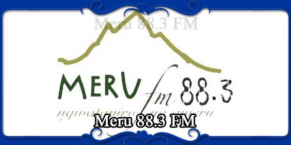 Meru 88.3 FM