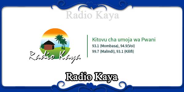 Radio Kaya