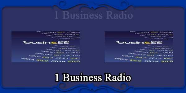 1 Business Radio