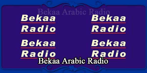 Bekaa Arabic Radio