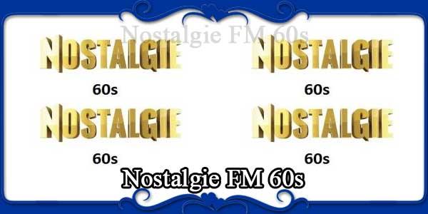 Nostalgie FM 60s