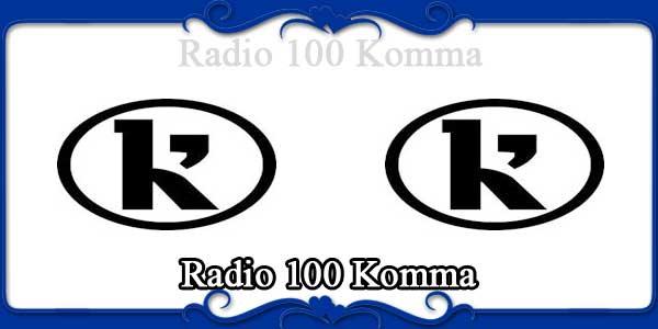 Radio 100 Komma