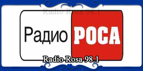 Radio Rosa 98.1