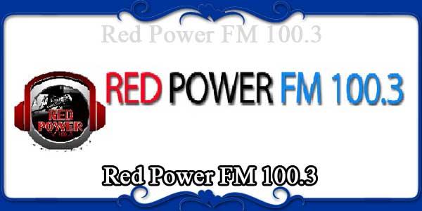 Red Power FM 100.3