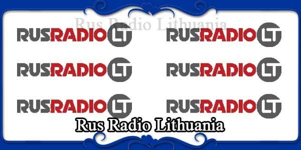 Rus Radio Lithuania