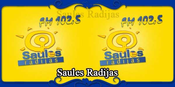 Saules Radijas