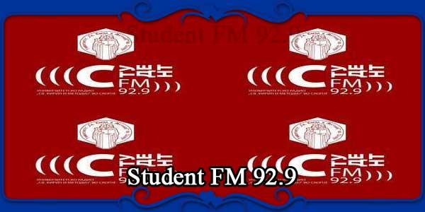 Student FM 92.9