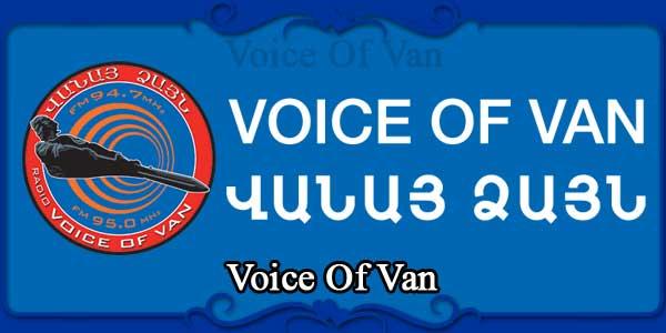 Voice Of Van