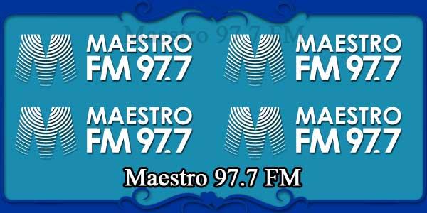 Maestro 97.7 FM