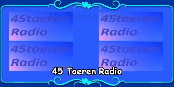 45 Toeren Radio