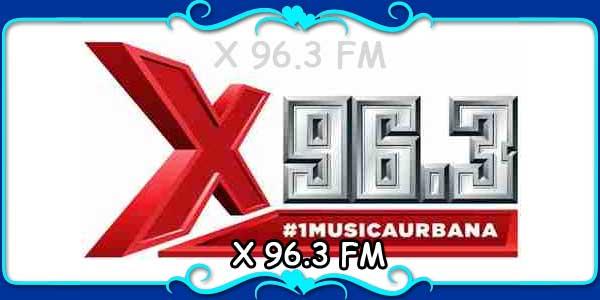 X 96.3 FM