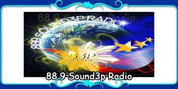 88.9 Sound3p Radio