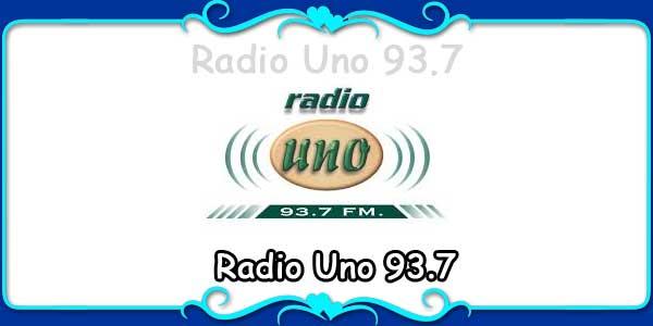 Radio Uno 93.7