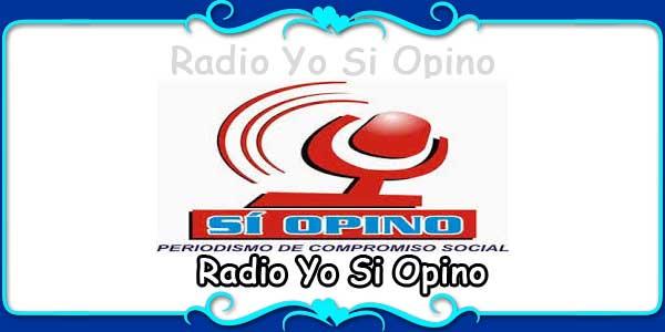 Radio Yo Si Opino