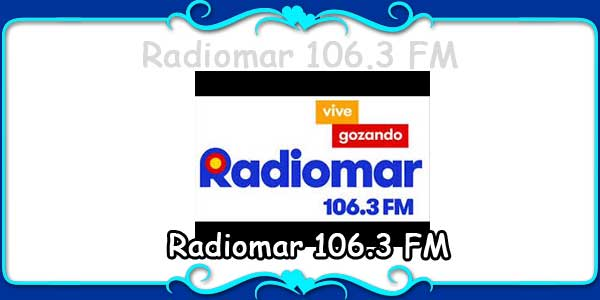 Radiomar 106.3 FM