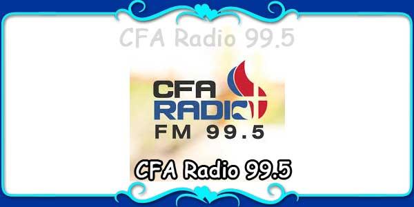 CFA Radio 99.5