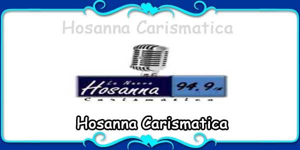 Hosanna Carismatica