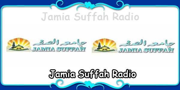Jamia Suffah Radio