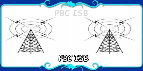 PBC ISB