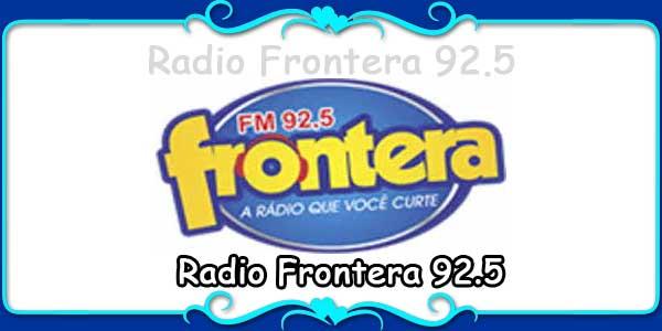 Radio Frontera 92.5