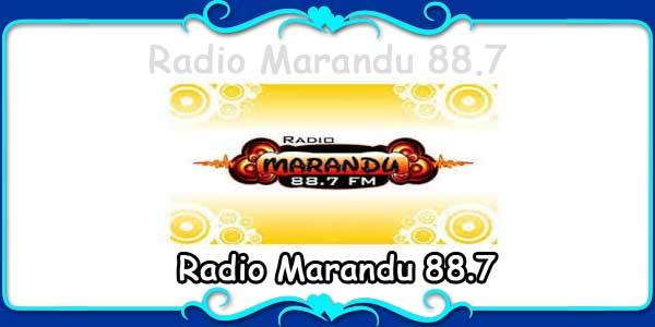 Radio Marandu 88.7