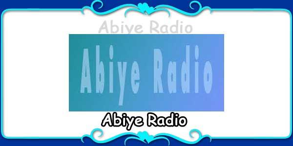 Abiye Radio