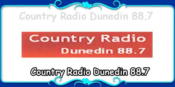 Country Radio Dunedin 88.7