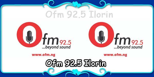 Ofm 92.5 Ilorin
