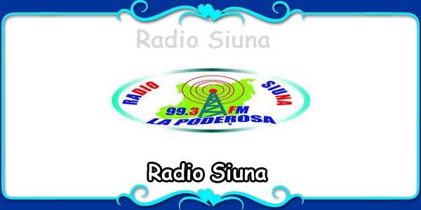 Radio Siuna