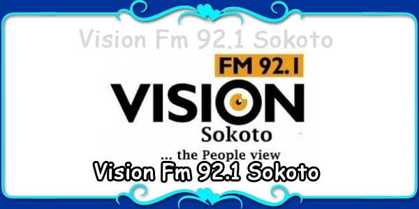 Vision Fm 92.1 Sokoto