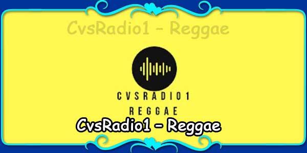 CvsRadio1 – Reggae