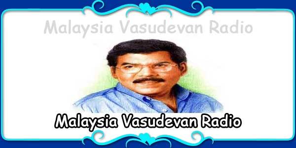 Malaysia Vasudevan Radio