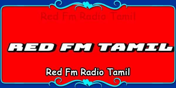Red Fm Radio Tamil