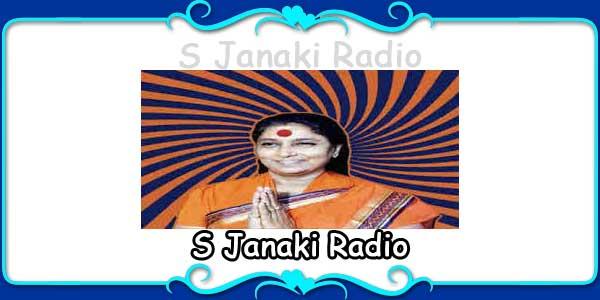 S Janaki Radio